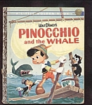 Click here to enlarge image and see more about item DCHBK100308A003: PINOCCHIO AND THE WHALE - Little Golden Book