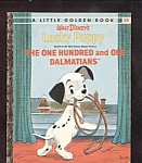 DISNEY LUCKY PUPPY (101 Dalmatians)- Little Golden Book