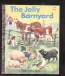 Click here to enlarge image and see more about item DCHBK110308A034: JOLLY BARNYARD - Little Golden Book
