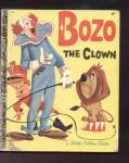 Click here to enlarge image and see more about item DCHBK120108A014: BOZO THE CLOWN - Little Golden Book