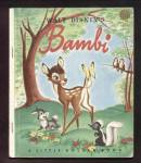 Click here to enlarge image and see more about item DCHBK120808006: BAMBI - Disney - Little Golden Book