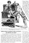 Click here to enlarge image and see more about item DG0122A1: 1926 HUGE Great Dane at CHICAGO DOG SHOW Mag. Article