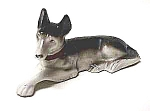 Click here to enlarge image and see more about item DG0528P: Nice GERMAN SHEPHERD Figurine II