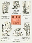 Click here to enlarge image and see more about item DG0614AA6: CUTEST 1944 DALMATIAN DOG Verse Page