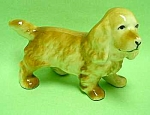 Click here to enlarge image and see more about item DG0803AA1: Nice Vintage COCKER SPANIEL Pottery Figurine