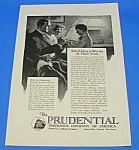 Click here to enlarge image and see more about item DG301AB1: 1925 COLLIE DOG IMAGE Prudential Insurance Ad