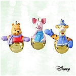 Click here to enlarge image and see more about item DI0106AA3: RING-A-LING PALS Winnie the Pooh - Hallmark Ornament