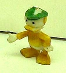 Click here to enlarge image and see more about item DI0128AA1: 1960s Disneykin DONALD DUCK NEPHEW Toy