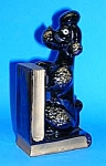 Vintage POODLE PENCIL HOLDER/BOOKEND