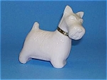Neat WHITE WESTIE DOG Figural Bottle