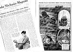 1927 DIVING DIVER BELL DEEP SEA Mag. Article