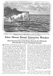 1927 Vint. DIVING/DIVER Ocean Photography Mag. Article