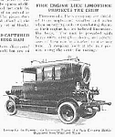 Click here to enlarge image and see more about item FIRELIMO: 1927 FIRE ENGINE LIKE LIMOUSINE Mag. Article