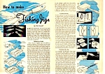 1957 HOW TO MAKE FISHING JIGS Magazine Article