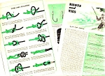 1949 FISHING LINE KNOTS - TIES Magazine Article