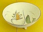 Click here to enlarge image and see more about item GL0113AA1: FAB Vint. AUTUMN Motif CALIFORNIA POTTERY