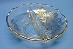 Click here to enlarge image and see more about item GL1110AA3-2006: Beautiful Vint. SILVER OVERLAY Divided Candy-Nut Dish
