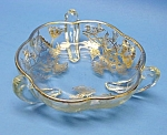Click here to enlarge image and see more about item GL1123BB4-2006: Beautiful Vint. SILVER OVERLAY Raised Candy-Nut Dish