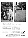 Click here to enlarge image and see more about item GO0121A1: 1956 SPALDING Par-Flites GOLF CLUB Ad