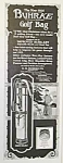 Click here to enlarge image and see more about item GO1002AA1: 1924 BUHRKE GOLF BAG Magazine Ad