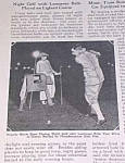 Click here to enlarge image and see more about item GO1002AA2: 1925 NIGHT GOLF/LUMINOUS BALLS Mag. Article