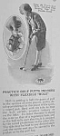 Click here to enlarge image and see more about item GO301AB5: 1926 GOLF PUTTING PRACTICE INDOORS Mag. Article
