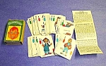 Click here to enlarge image and see more about item HD1024A1: 1950s HOWDY DOODY Mini Card Game
