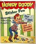 1953 HOWDY DOODY Sticker Book to Display