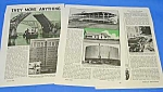 Click here to enlarge image and see more about item HI301AC5: 1940 BUILDING MOVERS (Move Anything) Magazine Article