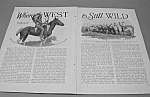 Click here to enlarge image and see more about item HIS531AA4: 1927 WILD WEST - Oklahoma Mag. Article
