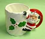 Click to view larger image of Vintage SANTA CLAUS (Full Body) Coffee Mug (Image1)