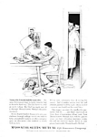 Click here to enlarge image and see more about item IL0121A2: 1962 NORMAN ROCKWELL Mass. Mutual Magazine Ad