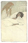 Click here to enlarge image and see more about item IL0329AA1: c.1900 JESSIE WILLCOX SMITH Sick Child Print
