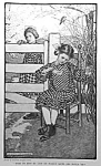 Click here to enlarge image and see more about item IL106A1: c.1900 ELIZABETH SHIPPEN GREEN Mag. Print: GIRLS