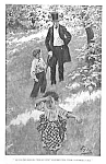 Click here to enlarge image and see more about item IL1214C1: c.1900 HOWARD PYLE Mag. Print L@@K! CHILDREN!