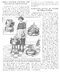 1921 SMALL WASHING MACHINE Mag. Article