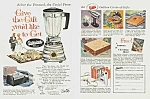 Click here to enlarge image and see more about item KI0529AA1: 1960 OSTERIZER BLENDER+ Color Ad