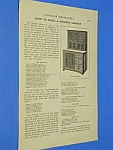 Click here to enlarge image and see more about item KI1002AA1: 1911 KITCHEN CABINET/HOOSIER to BUILD Article
