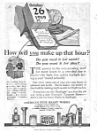 1919 EVERYREADY DAYGLO FLASHLIGHTS - BATTERIES Mag. Ad