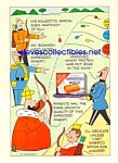 1960 SHREDDED WHEAT Nabisco SOGLOW Little King Ad