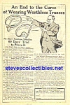 Click here to enlarge image and see more about item MAD051407B8: 1914 Cluthe Co. QUACK CURE Ad