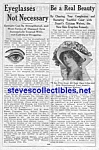 Click here to enlarge image and see more about item MAD051407E6: 1914 QUACK CURE Ad Page - EYES-Beauty