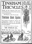 1897 TINKHAM BICYCLES Magazine Ad