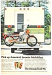 Click here to enlarge image and see more about item MADMC031606D4: 1972 HONDA TRAIL 90 Motorcycle Ad
