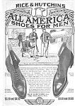 1905 RICE & HUTCHINS SHOES Mag. Ad
