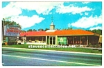 Click here to enlarge image and see more about item MADV112706E7: 1950s HOWARD JOHNSON'S Restaurant  Postcard