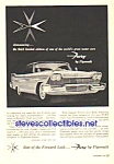 Click here to enlarge image and see more about item MAU010407C1: 1958 PLYMOUTH FURY Auto Ad