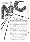 Click here to enlarge image and see more about item MAU030107B3: 1919 AC Spark Plug Sparkplug Automotive Ad