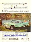 Click here to enlarge image and see more about item MAU031207A5: 1960 DODGE DART - Auto Magazine Ad