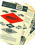 Click here to enlarge image and see more about item MAU113006G4: 1958 SMALL AMERICAN CARS Mag Article METROPOLITAN+